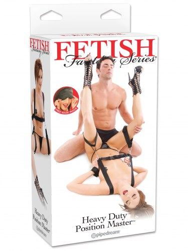 Postroj s pouty na ruce a stehna Heavy Duty Position Master