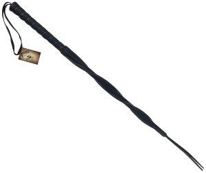 Luxusní kožený bič Edge Twisted – Biče a bičíky na spanking