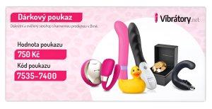 Dárkový poukaz 750 Kč – Dárkové poukazy na erotické zboží