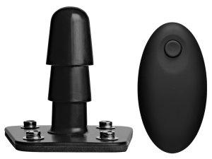 Vibrační kolík s dálkovým ovládáním Vac-U-Lock – Vac-U-Lock systém od Doc Johnson