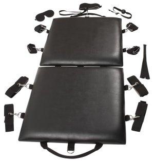Polstrovaná BDSM podložka s pouty Bondage Board – BDSM nábytek