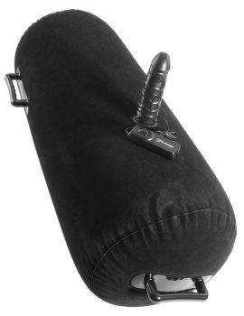 Nafukovací válec s vibrátorem Inflatable Luv Log – Vibrační sedátka a lehátka