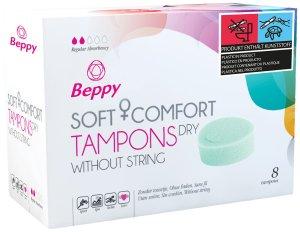 Menstruační houbičky Beppy DRY – klasické, 8 ks – Menstruační houbičky (tampony)