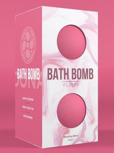Bomby do koupele Flirty Blushing Berry, 2 ks