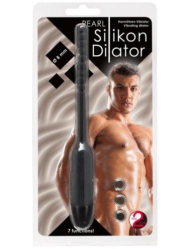 Vibrační silikonový dilatátor s kuličkami, 8 mm