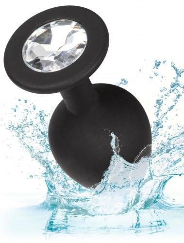Sada silikonových análních kolíků se šperkem Silicone Gem Anal Kit
