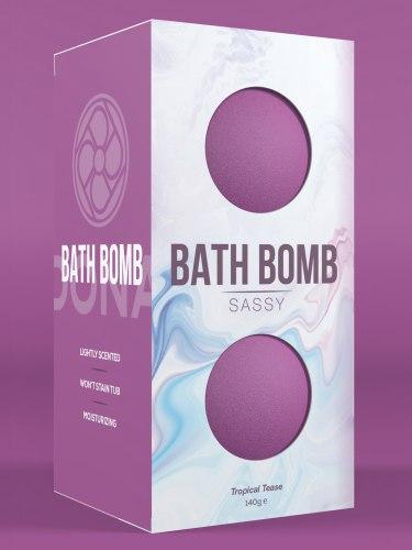 Bomby do koupele Sassy Tropical Tease, 2 ks