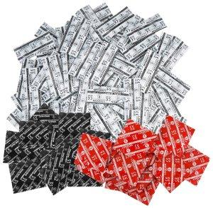 Balíček kondomů Durex LONDON mix 50 ks – Akční a výhodné balíčky kondomů