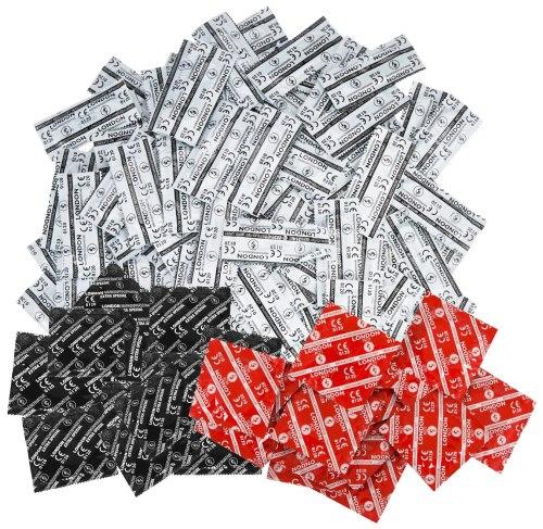 Balíček kondomů Durex LONDON mix 50 ks