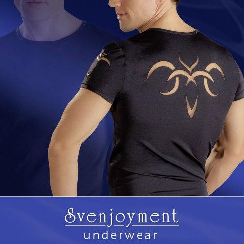 Pánské tričko s tribal motivy