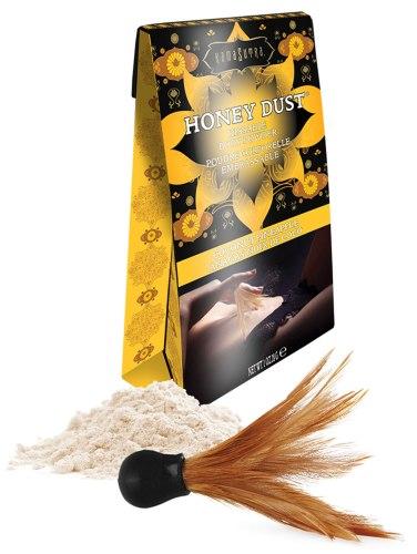 Slíbatelný tělový pudr Honey Dust Coconut Pineapple, 28 g