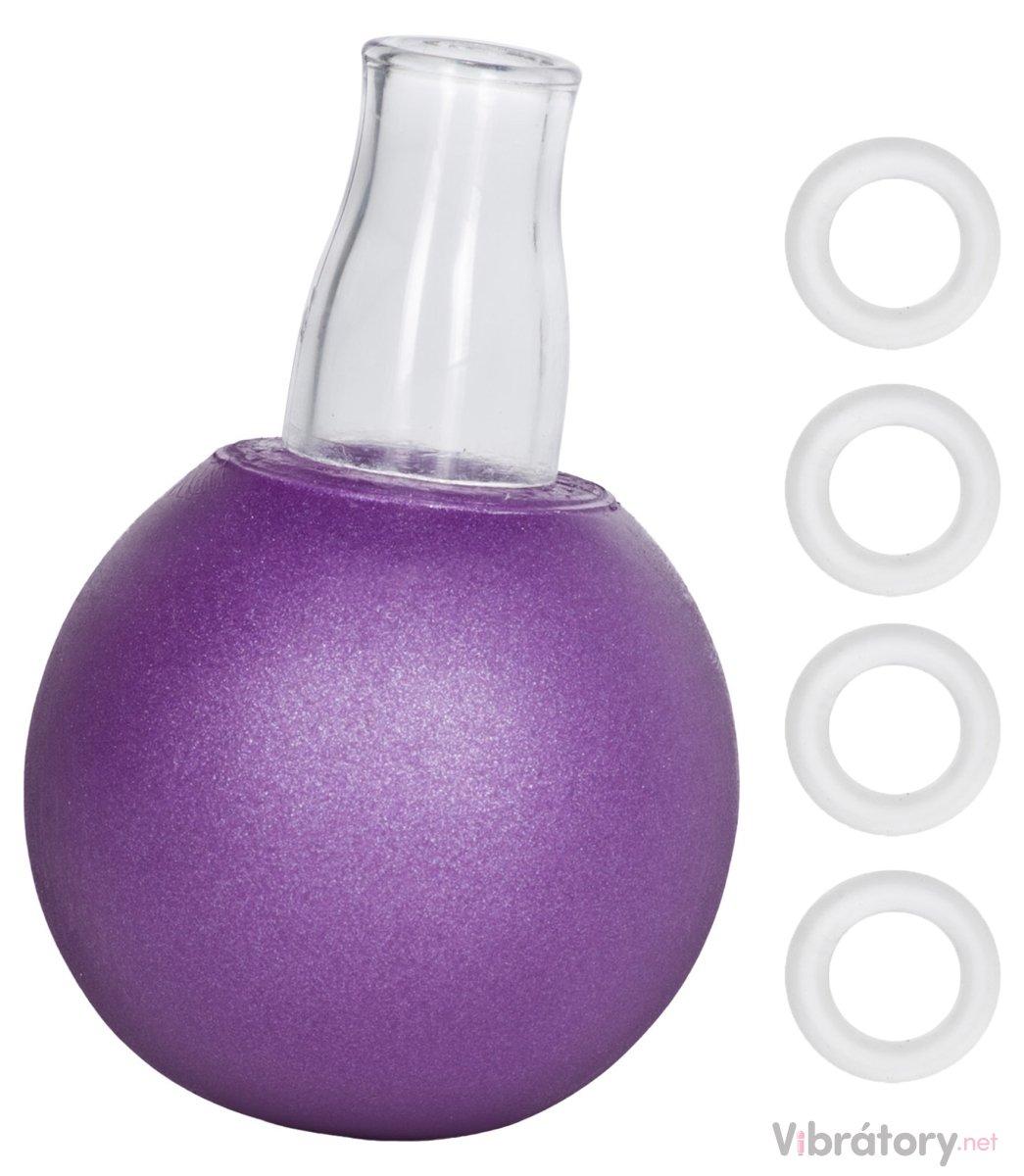 Přísavka na bradavky Nipple Play, fialová