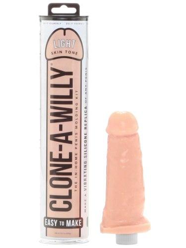 Odlitky penisu: Odlitek penisu Clone-A-Willy Light Skin Tone - vibrátor