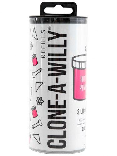 Náhradní silikon pro Clone-A-Willy, jasně růžový