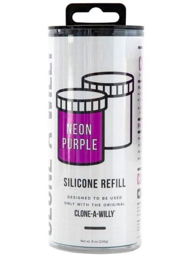 Náhradní silikon pro Clone-A-Willy, fialový