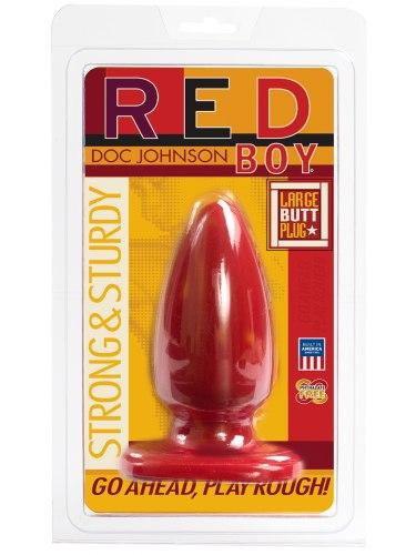 Anální kolík Red Boy Large