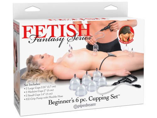 Sada na baňkování Beginner's Cupping Set