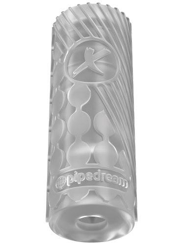 Masturbátor pro muže EZ Grip Stroker - transparentní