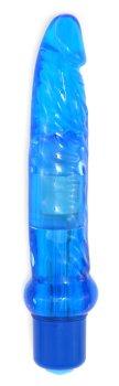 Anální vibrátor Jelly, modrý – Anální vibrátory pro potěšení zadečku