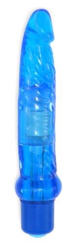 Anální vibrátor Jelly, modrý