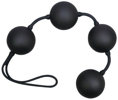 Venušiny kuličky Black Balls Velvet