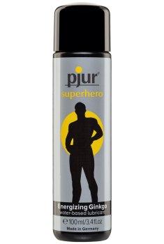 Lubrikační gel Pjur Superhero Energizing Ginkgo – Lubrikační gely na vodní bázi