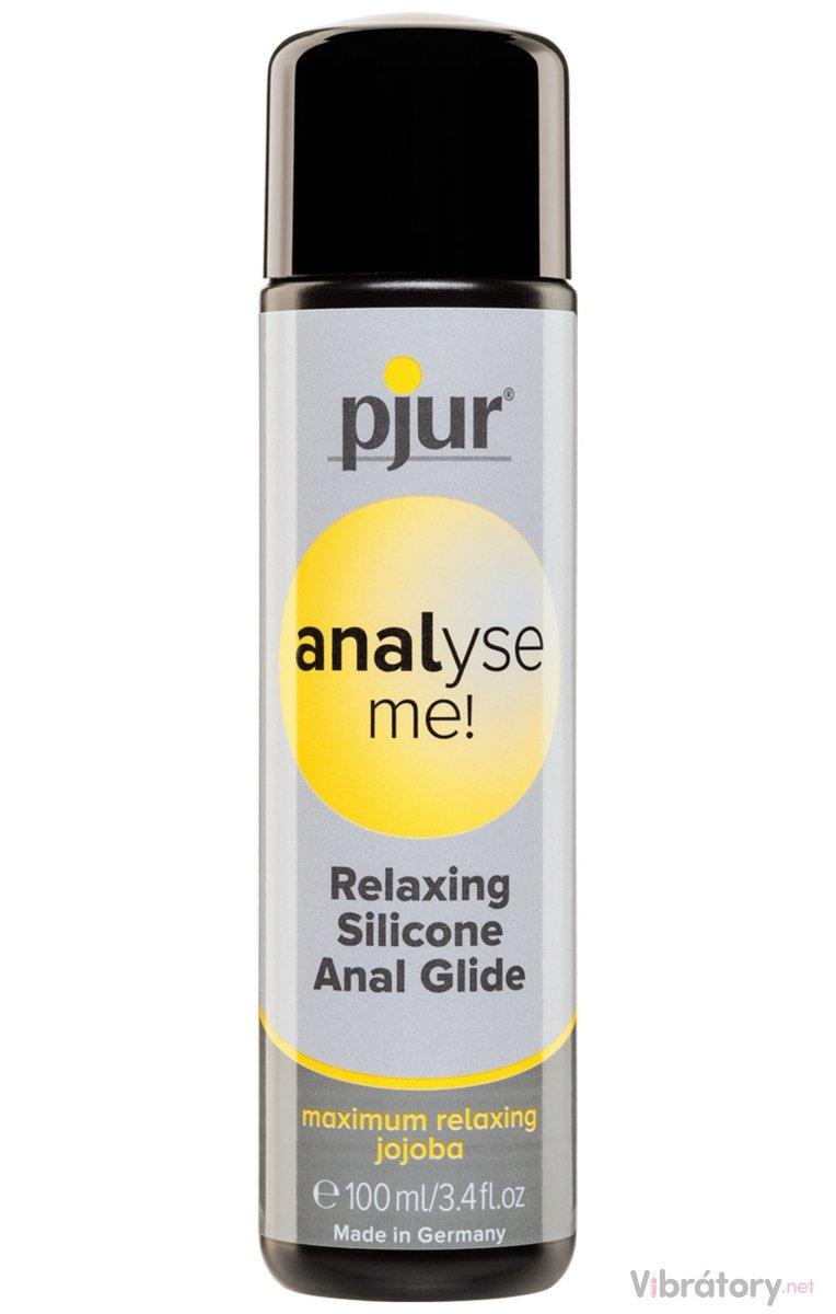 Lubrikační gel Pjur Analyse Me! - anální (silikonový), 100 ml