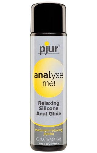 Lubrikační gel Pjur Analyse Me! - anální (silikonový)