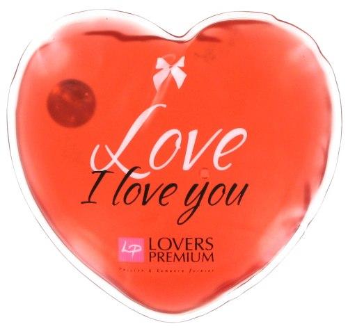 Masážní pomůcky a doplňky: Hřejivé masážní srdíčko I Love You