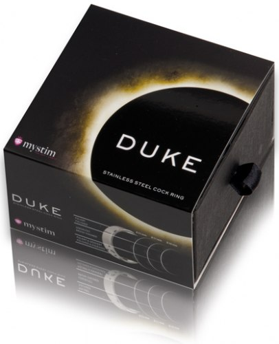 Kovový erekční kroužek Duke