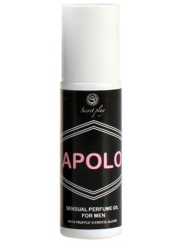 Kuličkový olejový parfém s feromony pro muže Apolo