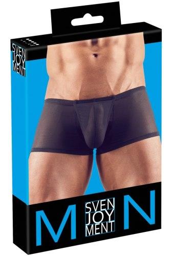 Průsvitné boxerky s kapsou na penis a push-up efektem Svenjoyment