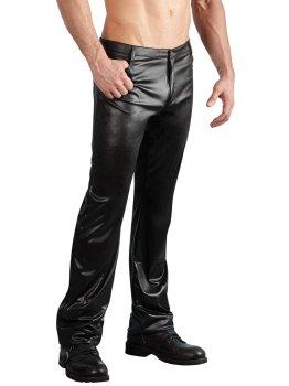 Lesklé pánské kalhoty Svenjoyment – Pánské kalhoty a legíny