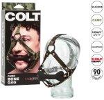 Kousací silikonový roubík s postrojem COLT Camo