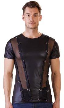 Pánské tričko s kovovými kroužky NEK – Pánská trička a tílka