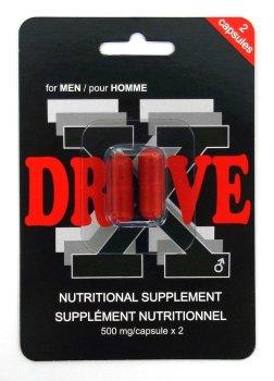 DRIVE X - tablety na okamžité posílení erekce – Podpora erekce - prášky, krémy, gely