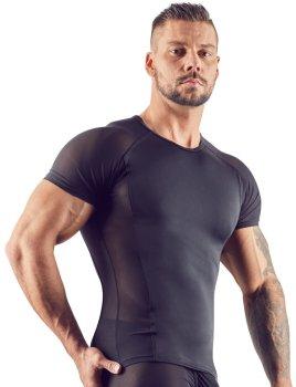 Pánské tričko s průsvitnými vsadkami Svenjoyment – Pánská trička a tílka