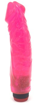 Vibrátor Big Jelly, růžový – Realistické vibrátory