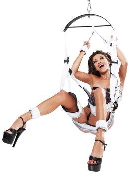 Závěsná erotická houpačka Fantasy Bondage Swing – Erotické houpačky a postroje