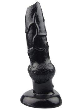 Animal dildo DOG - psí penis, černý – Animal dilda (zvířecí penisy)