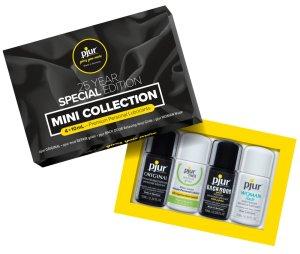 Testovací sada lubrikačních gelů Pjur Mini Collection – Lubrikační gely na vodní bázi