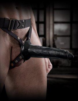 """Dutý připínací penis 8"""" + postroj COMMAND by Sir Richard's – Duté připínací penisy"""