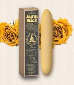 Vaginální tyčinka Jamu Stick Yellow Rose – Vaginální tyčinky