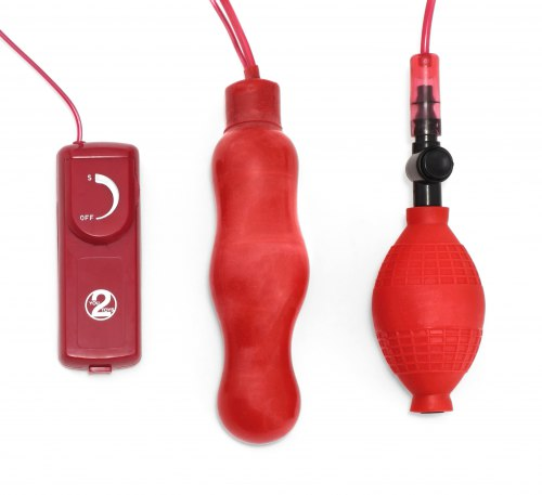Nafukovací vibrační anální kolík