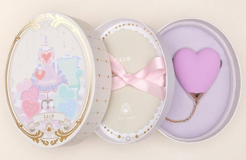 Luxusní mini vibrátor Baby Heart - ovládaný mobilem