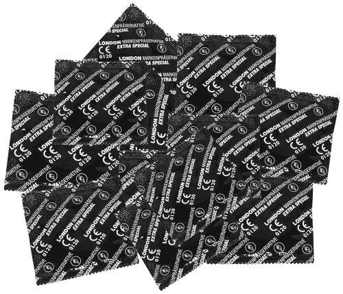 Balíček kondomů LONDON EXTRA SPECIAL 45+5 ks zdarma