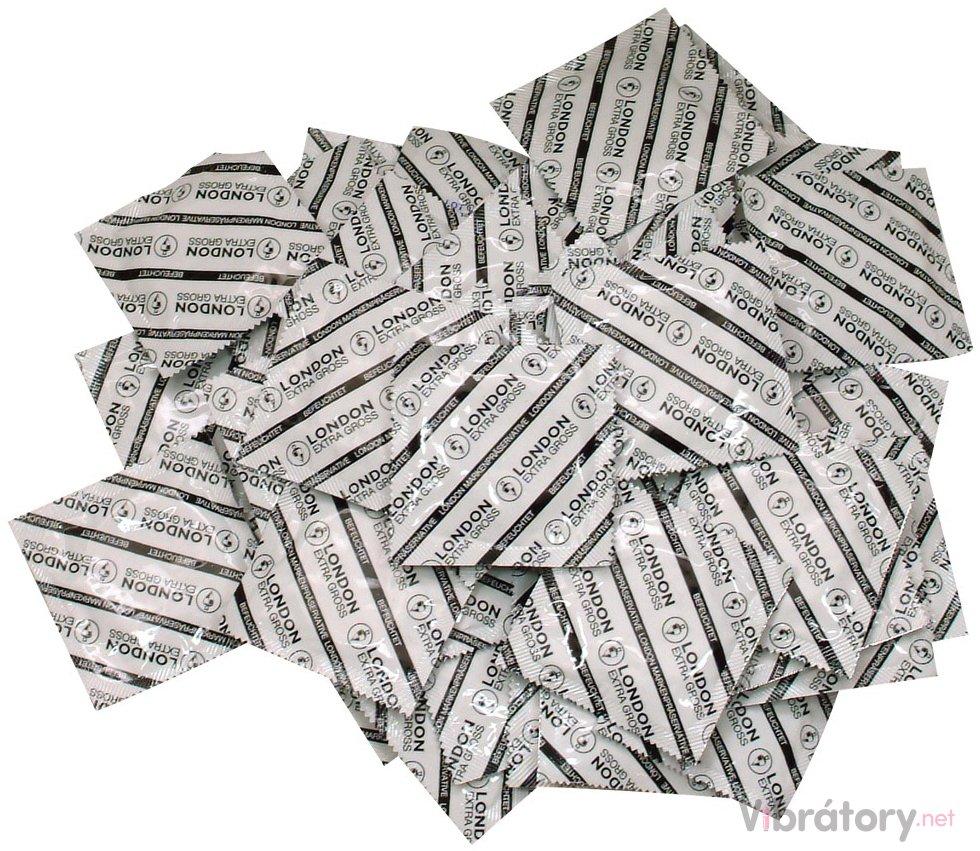 Balíček velkých kondomů Durex LONDON XL 50 ks