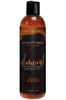 Masážní olej Intimate Earth Almond – Erotické masážní oleje a emulze