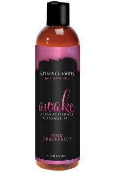 Masážní olej Intimate Earth Awake – Erotické masážní oleje a emulze