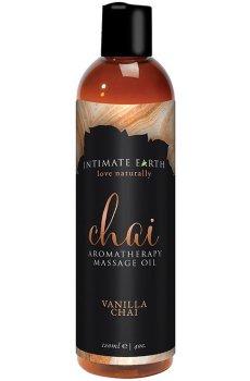 Masážní olej Intimate Earth Chai – Erotické masážní oleje a emulze